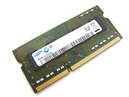 Samsung Original 2 GB 204 pin DDR3-1333 SO-DIMM (1333Mhz, PC3-10600S, CL9, 256Mx8, Single Rank) - Part M471B5773CHS-CH9 mit Netbookspezifischer Chipstruktur - passend für alle aktuellen DDR3 Netbooks