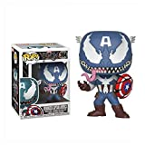 YISUDA Funko Pop The Avengers Iron Man/Capitán América/Venom Edition Black Panther FigureToy Gifts