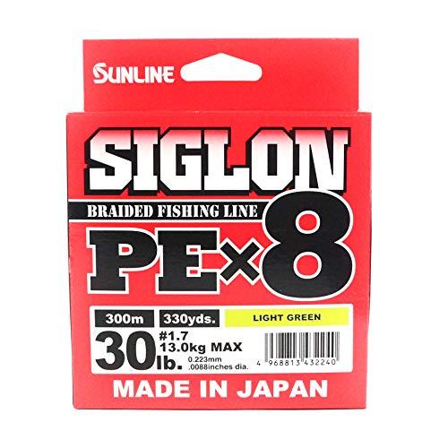 Sunline TRECCIATO SIGLON PEX8 30LB 0.223mm 13Kg per Mulinello Spinning BOLENTINO