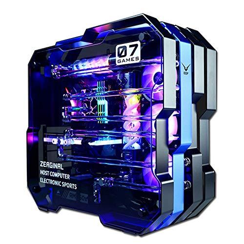 Aceyyk Supremacy VR 4K Gaming Computer PC Desktop, i9-9900K Dual RTX 2080Ti SLI 11GB Custom Loops RGB Liquid Cool 64GB DDR4 1TB 970 Evo M.2 Windows 10 PRO,RTX2080TI