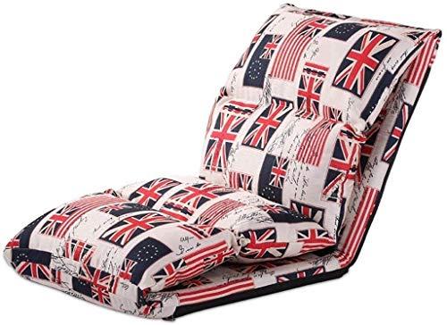 FTFTO Bureau Life Transats Loisirs Canapé Chaise Longue Dossier Fauteuil Déjeuner Pause Chaise Portable 4 Couleurs (Couleur: D)