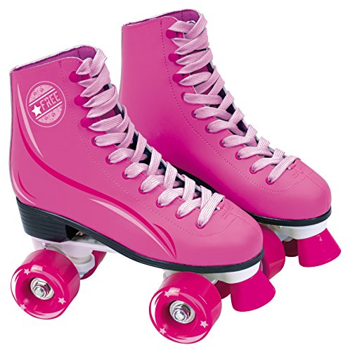 Learn More About Muñecas Saica 6963 Roller Boot, Pink, Size 31