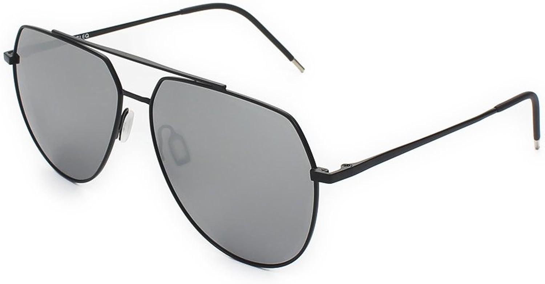 JAZLEQ Classic HD Polarized Mirrored Sunglasses UV400 Lightweight Metal Frame