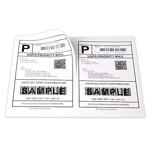 [100 Sheet, 3000 Labels] Address Mailing Shipping Amazon FBA Barcode Labels 1 x 2 5/8 30 Per Sheet for Laser/Inkjet Printer, 30-up