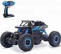 リモートコントロールカー4WD高速リモートコントロールおもちゃ車、1:18合金オフロード車4WDクライミングカー、子供用電気おもちゃ車、2.4Ghzラジオリモートコントロール