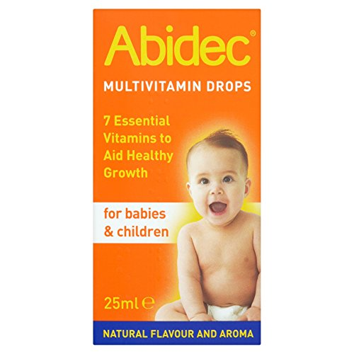 6 x Abidec Multivitamin Drops for Babies & Children 25ml