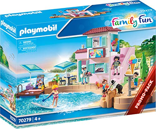 PLAYMOBIL Family Fun 70279 Glace sur Port à partir de 4 Ans