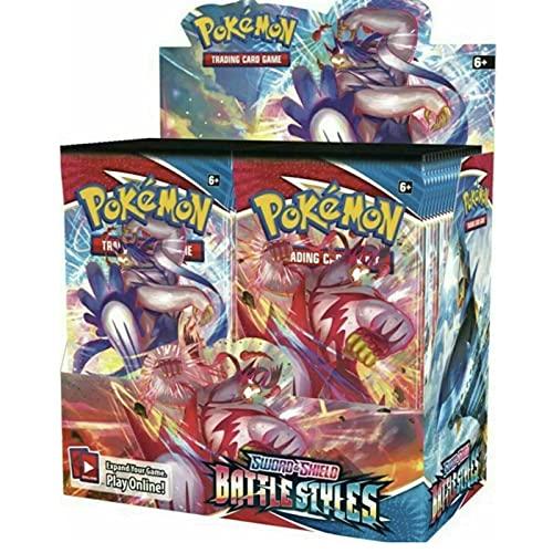 FANTCI Carte da Gioco Pokemon Carte da Battaglia Pokemon, Gioco di Carte da Combattimento Pokemon 360 Carte V Max Gx Flash Trading Puzzle Gioco di Carte Divertimento 360 Carte