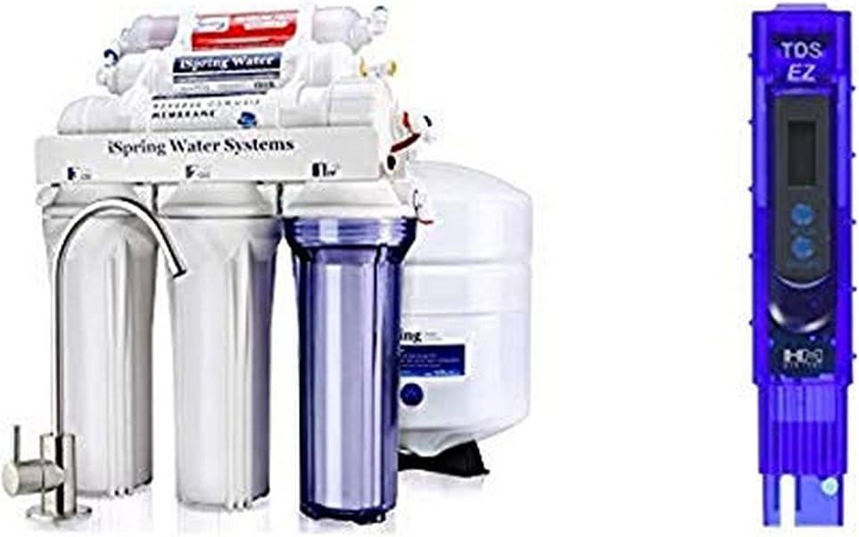 iSpring RCC7AK Drinking Water Filter System half HM 25% OFF Digital White
