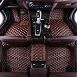 XHULIWQ Alfombrillas de Cuero para Coche, para Infiniti Q50 2014-2019, Alfombrilla de Arranque Personalizada Interior Car Styling