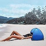 FanCheng Show Mini tienda de campaña de playa, protección de la cara para protección solar personal, con bolsa de almacenamiento.