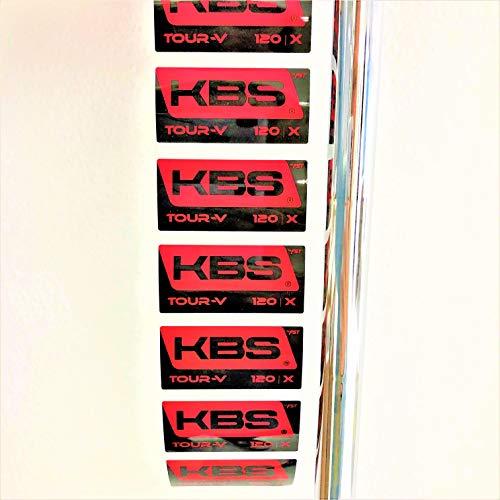 """KBS New Steel Tour-V 120 Extra Stiff Flex Iron Shafts (See Drop Down menu) (#5-39"""")"""