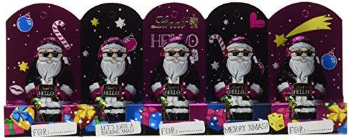 Lindt & Sprüngli Hello, Mini-Santa, 5er Pack (5 x 50 g)