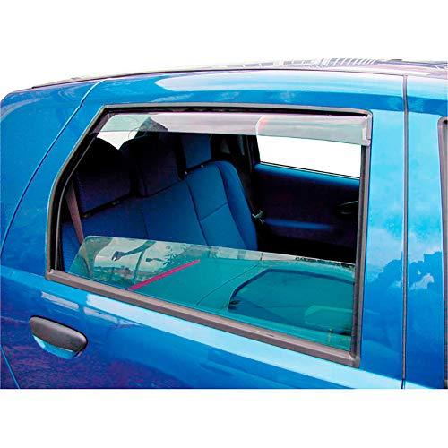 Hintere Windabweiser (1 Set) für die Fahrer und Beifahrerseite-CLI004M2028 passend für Skoda KAROQ SUV, TYP NU, 5-Door, 2017-
