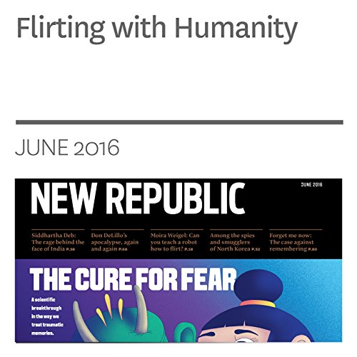 Flirting with Humanity audiobook cover art