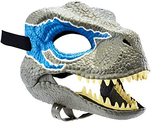 Máscara com Movimento Velociraptor Blue Jurassic World Mattel