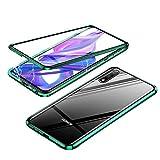 Gift_Source Galaxy A80 Coque, Galaxy A90 Coque, [Vert] Coque d'adsorption magnétique Housse en...