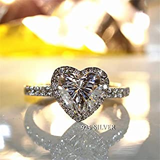 ss cz bridal set ring