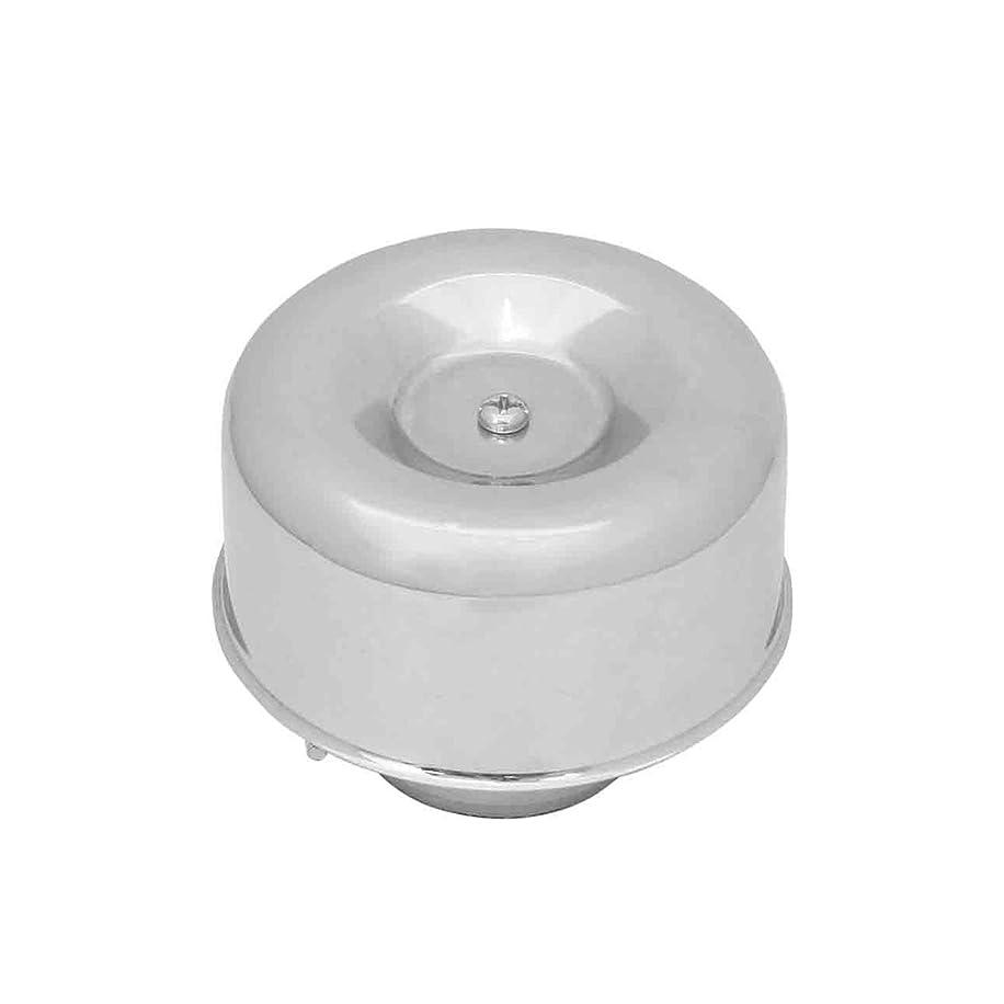 KNS Accessories KA5009 Chrome Air Cleaner-Smooth Style 1 Barrel Carbs
