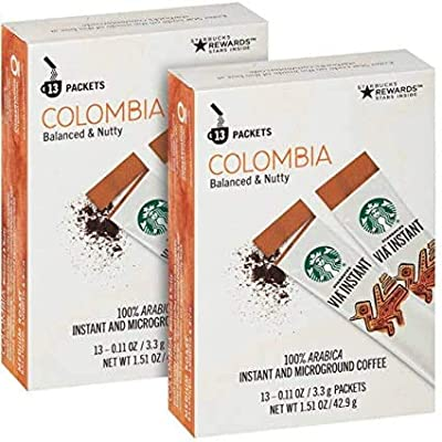 Starbucks VIA Ready Brew Colombia Coffee (24 Instant Servings) from Starbucks