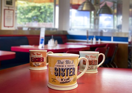"Diner Mugs ref:018 195000018""Gin & Tonic"" Mug, Yolk Yellow"