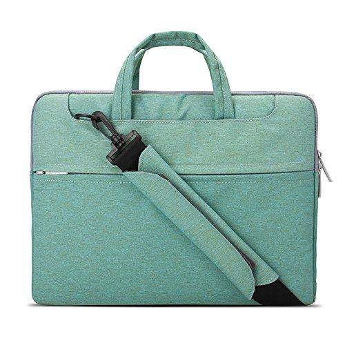 Lacdo 13 Inch Laptop Shoulder Bag Sleeve Case Compatible...