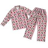 Conjunto de Pijama de Cara con Foto Personalizada Conjunto de Pijama de Manga Larga con Corazón Rosa Personalizado para Mujer Fotografía Personalizada en Ropa de Dormir para Mujeres Hombres Pareja