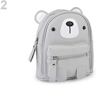 1pc 2 Very Light Grey Girls Backpack/Rucksack Bear, Childrens and Bags & Backpacks, Fashion Accessories