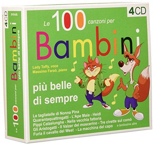 Box-Le 100 Canzoni Piu Belle Per Bambini