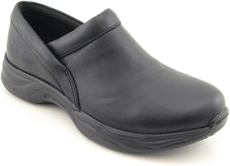 Pro-Step Men's Barnett Black Leather Size 10 M