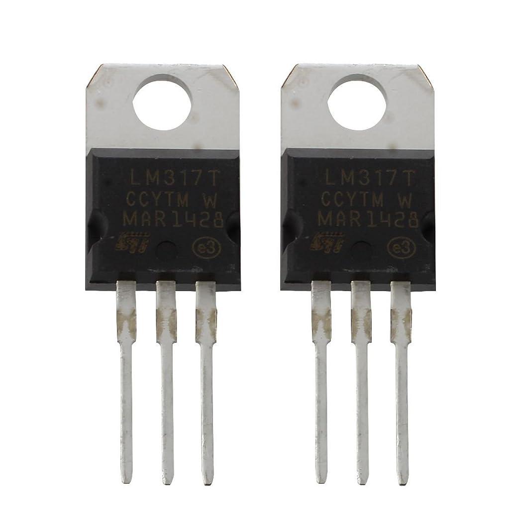 成功差別等価ACAMPTAR ACAMPTAR(R)2個 1.2-37V 1.5A 正 LM317T TO22パッケージ 電圧レギュレータ