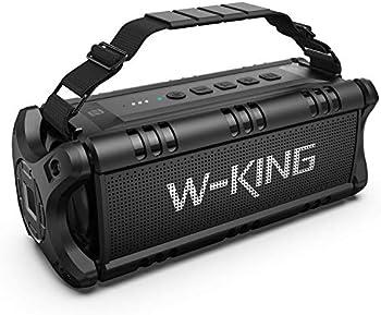 W-King 50W Bluetooth Speakers Built-in 8000mAh Battery Power Bank