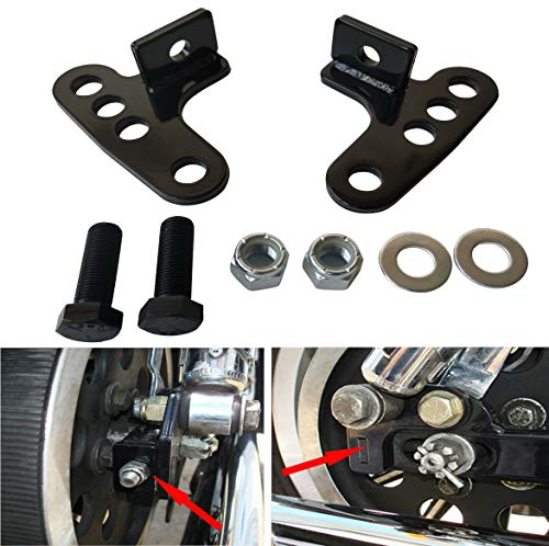 Adjustable Rear Lowering Kit for Harley 2001 2002 2003 2004 04 Sportster Sport Hugger 883 1200 Low 1-3 Inches