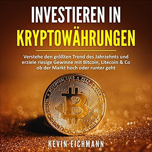 Investieren in Kryptowährungen Titelbild