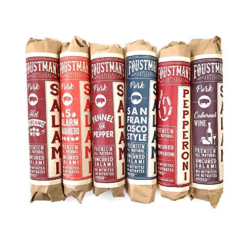 Pork Charcuterie (6 different types) Artisan, Nitrate-Free, Naturally Cured