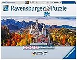 Ravensburger Puzzle, Puzzle 1000 Piezas, Castillo de Neuschwanstein, Colección Alemana, Puzzles para Adultos, Rompecabezas Ravensburger de Alta Calidad