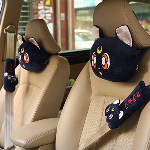 FWJSDPZ Sailor Moon Series Anime Pillow Decoration Pillow Home Tire Car Pillows Soft for Office Sleep Gifts Unisex 2-Set