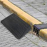 Rampa di gomma, rampa del marciapiede Rampa del marciapiede resistente Rampa d'accesso Vialetto per autoveicolo per motocicletta