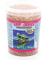 BPS Alimento Comida Gammarus para Tortugas Turtle Terrapin Food 5 Diferentes Modelos para Elegir (Gammarus Alimento 1200ml) BPS-04060