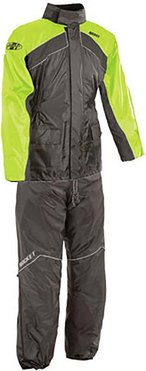 Joe Rocket RS-2 Two-Piece Men's Street Rainsuit Manufacturer OFFicial shop - Bla Manufacturer OFFicial shop Motorcycle