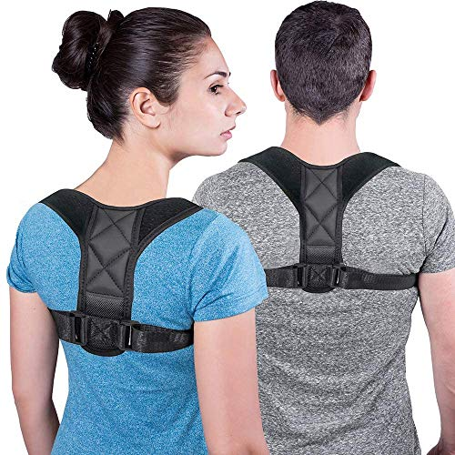 Rücken Geradehalter,Körperhaltung-Korrektor für Damen und Herren,Einstellbare Haltungskorrektur