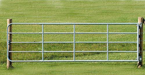 Kerbl Weidetor verstellbar 4m-5m, verzinkt, incl. Montageset