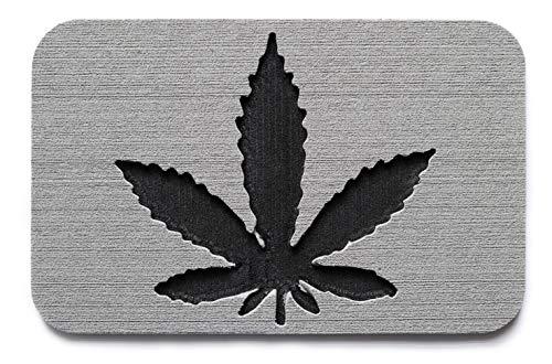 Toejamr Snowboard Stomp Pad - Pot Leaf PAD - Gray