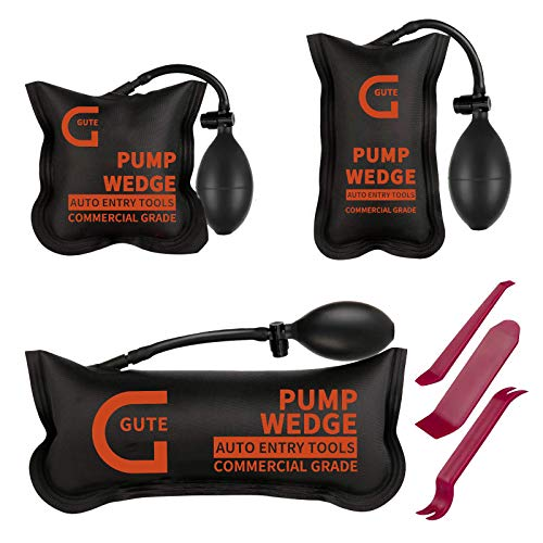 Gute Air Shim, Air Wedge Bag Pump, 3 Pack...