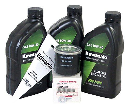 2015-2018 Kawasaki Mule Pro FX Mule Pro FXT Oil Change Kit