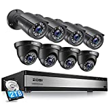 Best 16 Channel Dvrs - ZOSI 1080p 16 Channel Security Camera System, H.265+ Review