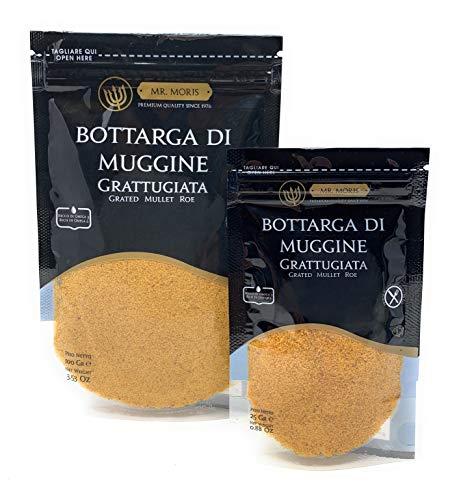 Bottarga di Muggine Grattugiata in Bustina Kosher Mr Moris - Lavorata in Italia - (25Gr)