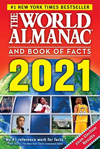 New York Times Best Sellers 2021 The World Almanac and Book of Facts 2021   Kindle edition by