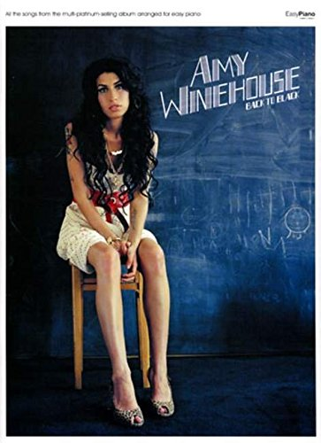 Winehouse Amy Back To Black Easy Piano