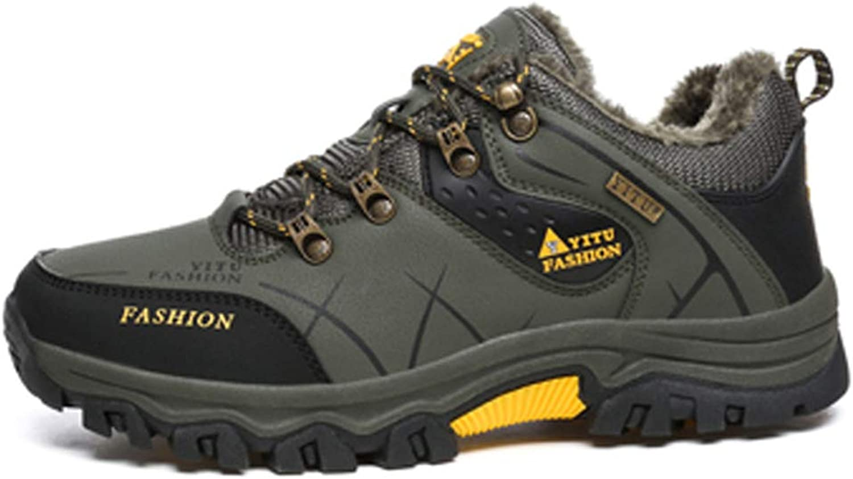 Mans Mountain Hiking skor Athletic Winter Hunting stövlar stövlar stövlar Sport Antislip  kostnadseffektiv